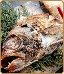 高級魚のどぐろ焼